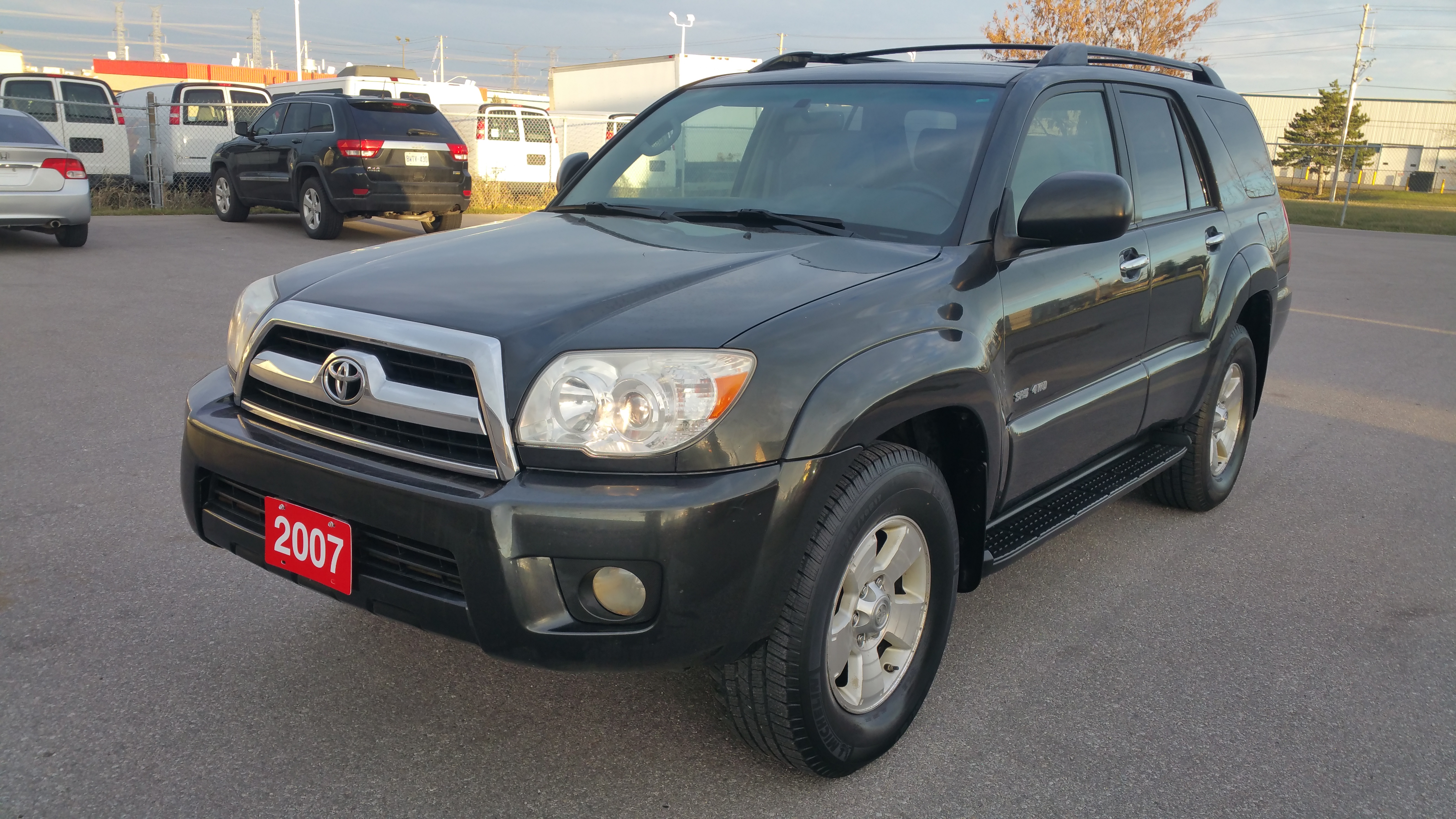 2007 toyota 4runner v6 7 passenger united car sales. Black Bedroom Furniture Sets. Home Design Ideas